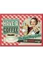Nostalgic Art Have A Coffee Magnet 6x8 cm Renkli